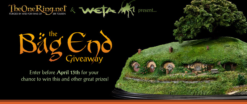 Join TheOneRing.net and Weta Workshop as we celebrate the start of Hobbit production!