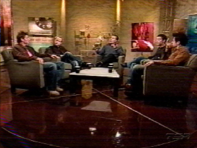 TV Watch: TNS' Off the Record with Elijah Wood, Billy Boyd and Andy Serkis - 640x480, 177kB