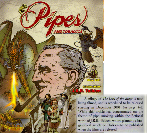 Pipes & Tobaccos Magazine - Winter 2001 Cover - 600x541, 179kB