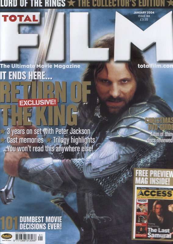 Media Watch: Total Film's ROTK Special - Cover - 567x800, 106kB