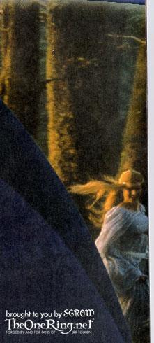New Line Publicity Booklet - Lothlorien Elf - 221x490, 31kB