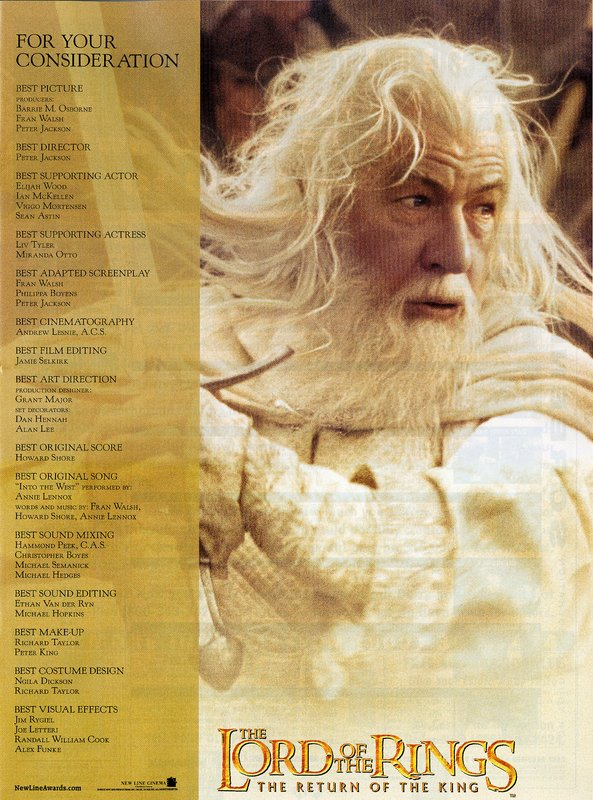 For Your Consideration - Gandalf the White - 593x800, 129kB