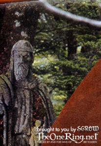 New Line Publicity Booklet - Gondorian Statue? - 207x299, 21kB