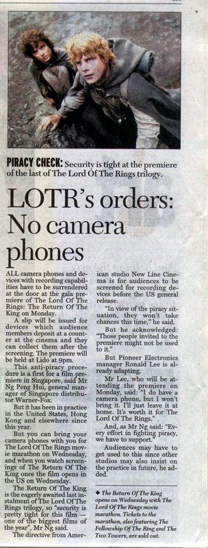 No CameraPhones Please, We're Elvish - 304x800, 86kB
