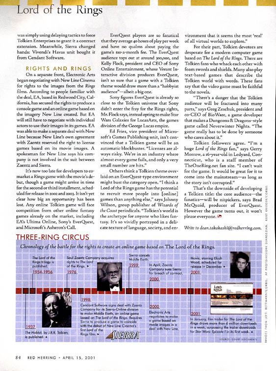 Red Herring Magazine: The Battle for Middle Earth Part 2 - 563x757, 149kB
