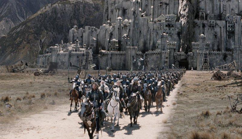 Aragorn Leads The Host - 800x462, 106kB