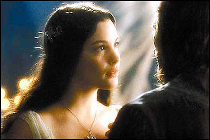 Arwen and Aragorn - 430x286, 23kB