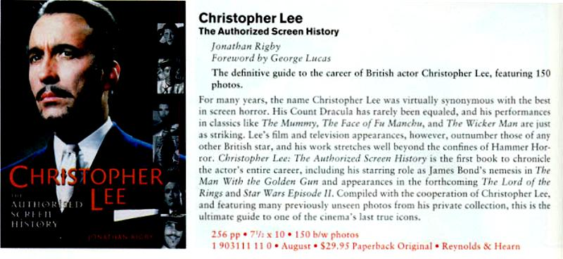 Christopher Lee: The Authorized Bio - 800x368, 55kB