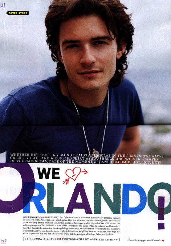 Media Watch: Olando Bloom in Teen People - 555x800, 87kB