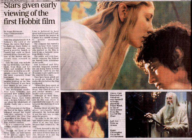 CANNES 2001: The Daily Telegraph - 800x581, 104kB
