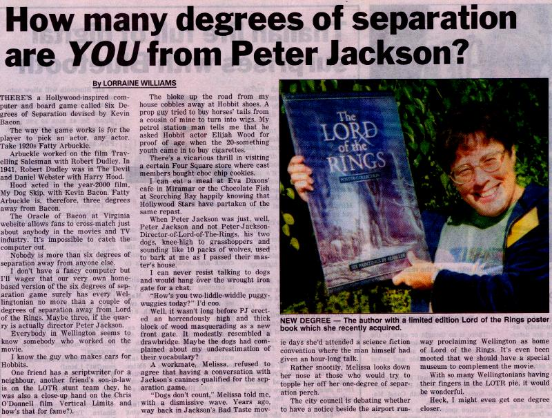 The Degrees of Peter Jackson - 800x605, 144kB