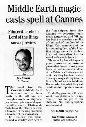 Middle Earth magic casts spell at Cannes - Page 1 - 297x437, 38kB