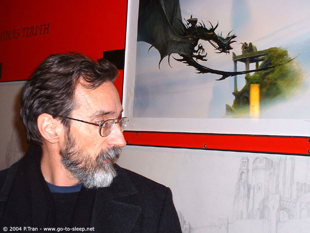 John Howe Exhibit in Paris - 640x480, 55kB