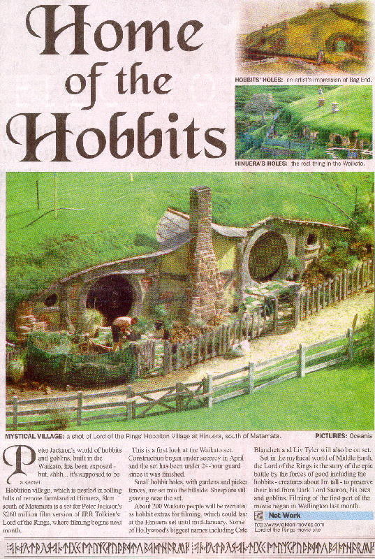 Home Of The Hobbits - 537x800, 197kB