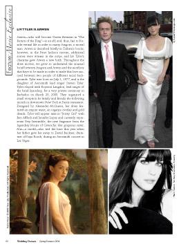 Media Watch: Wedding Dresses Talks Fantasy Weddings - 275x360, 33kB