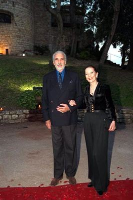 Cannes 2001 - Christopher Lee - 266x399, 21kB