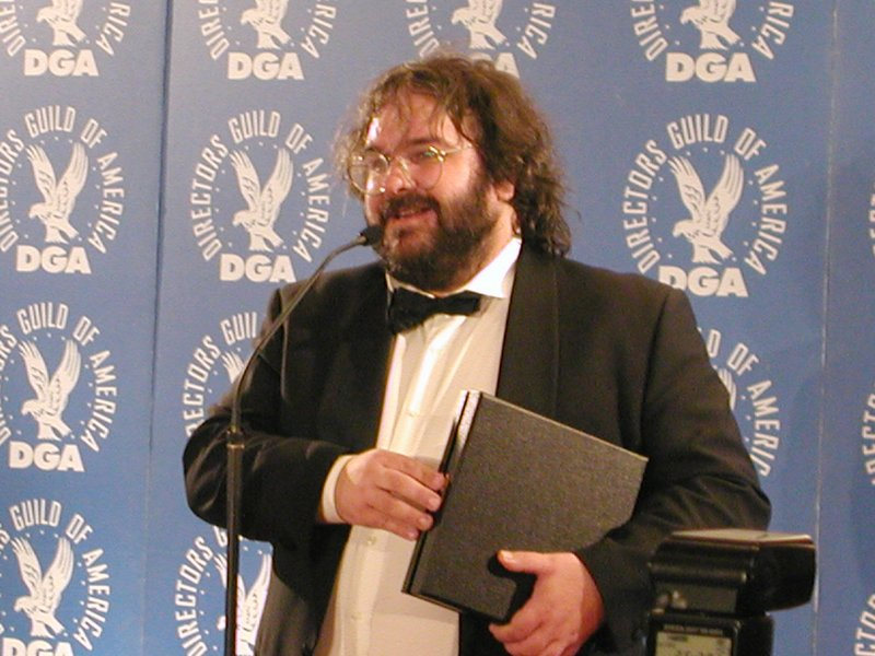 Peter Jackson at the DGA's - 800x600, 91kB
