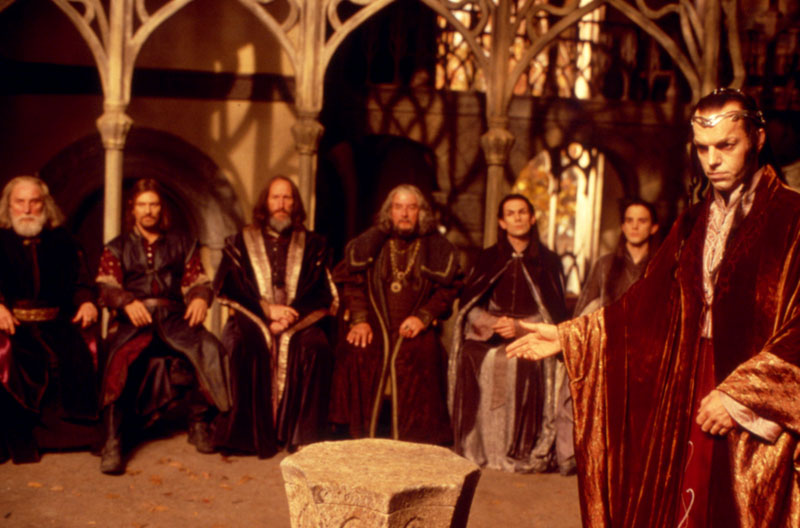 Council of Elrond - Cannes 2001 Slide - 800x528, 93kB