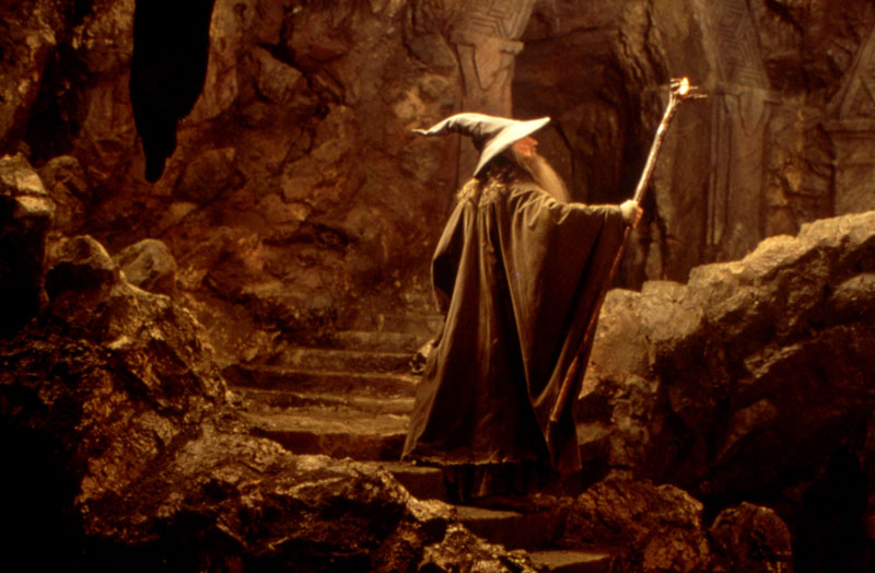 Gandalf the Grey in Moria - Cannes 2001 Slide - 800x524, 91kB