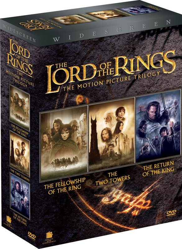 The LoTR Trilogy Boxed Edition Artwork - 585x800, 149kB
