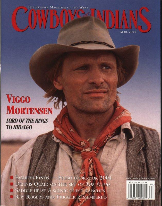 Mortensen in Cowboys & Indians Magazine - 629x800, 103kB