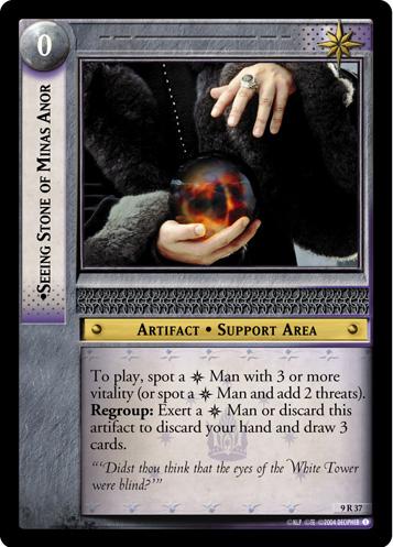 Denethor with his Palantir - 357x497, 80kB