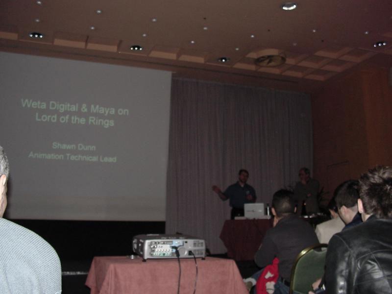 Weta Digital Conference in Milan - 800x600, 40kB