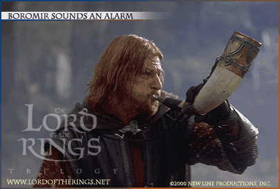 Boromir Sounds The Alarm - 404x273, 13kB