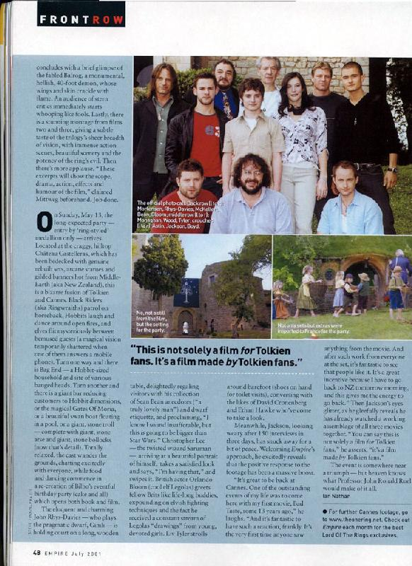 Empire Magazine Talks LoTR At Cannes - Page 3 - 582x800, 108kB