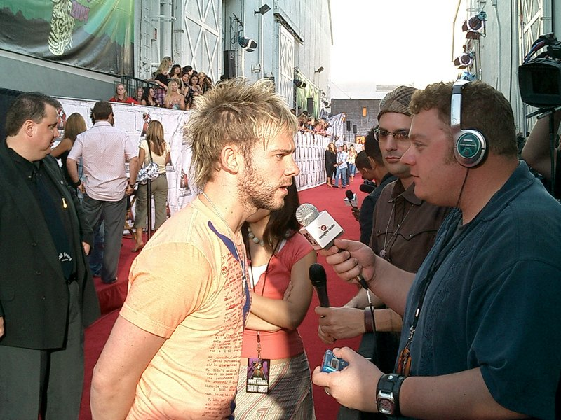 Dominic Monaghan at the MTV Awards - 800x600, 167kB