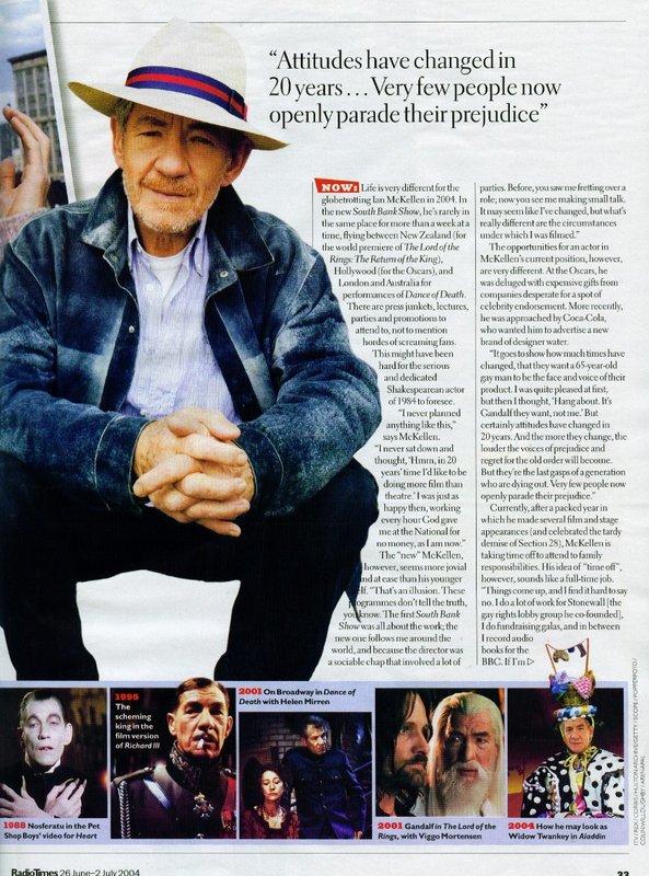 BBC Radio Times Talks McKellen - 593x800, 140kB