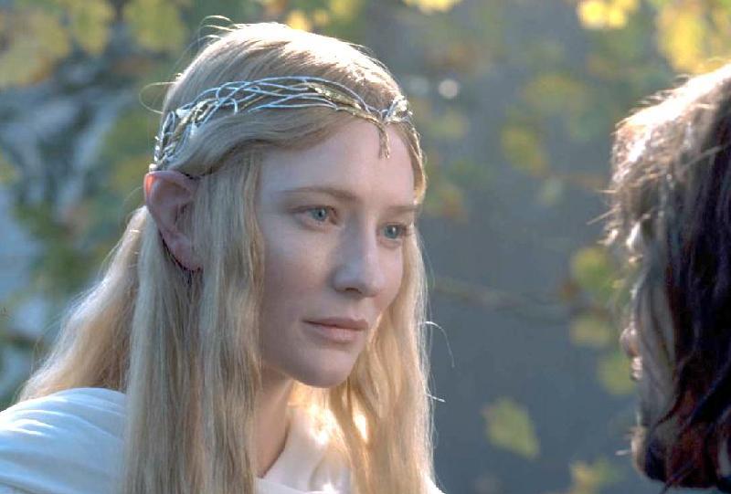 Galadriel Speaks With Aragorn - 800x541, 44kB
