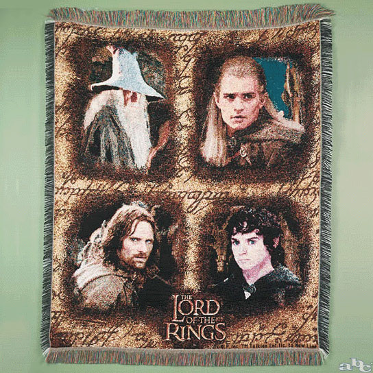 LOTR 'Throw' Available Online - 544x544, 132kB