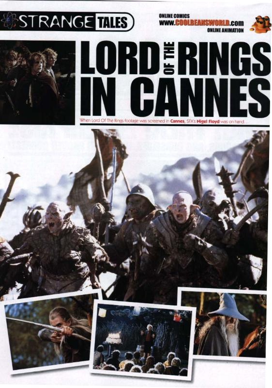 SFX LoTR Cannes Coverage - Cover Page - 562x800, 80kB