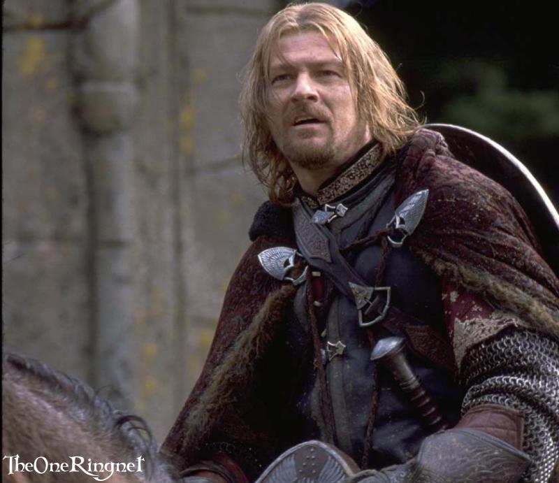 Boromir Arrives At Rivendell - 800x691, 62kB