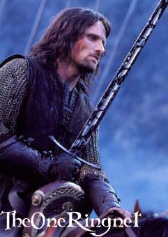 Aragorn Rides - 241x340, 17kB