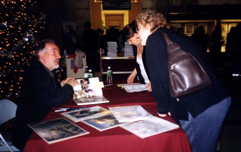Alan Lee Booksigning Tour: Philadelphia - 800x506, 68kB