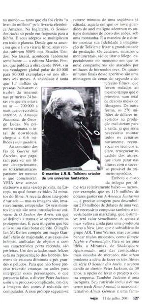 Brazillian Mag Talks LoTR - Page 02 - 299x617, 66kB