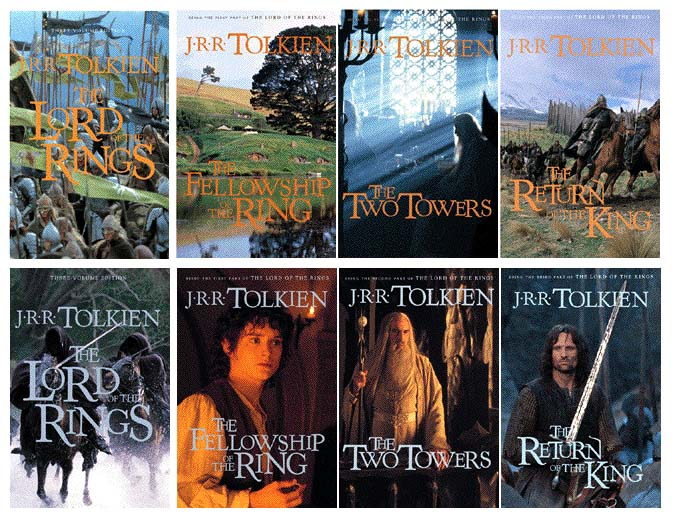 LoTR Books Covers - 680x520, 119kB