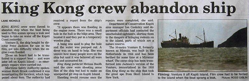 King Kong crew abandons ship - 800x261, 80kB