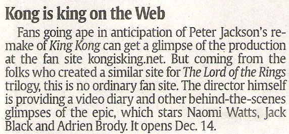 Kong is King on the Web - 572x266, 69kB