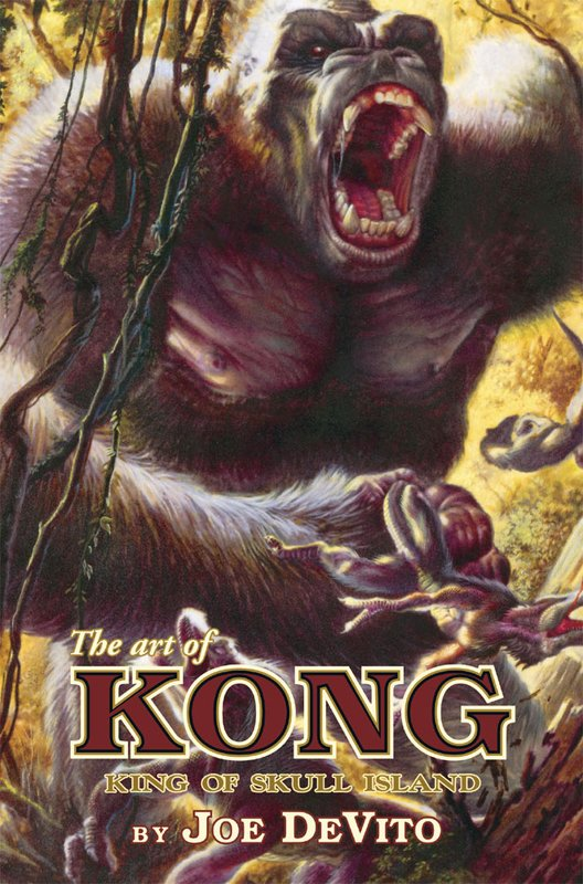 The Art of KONG: King of Skull Island - 528x800, 114kB