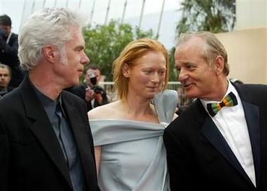 Tilda Swinton at Cannes 2005 - 380x272, 67kB