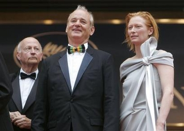 Tilda Swinton at Cannes 2005 - 379x269, 64kB