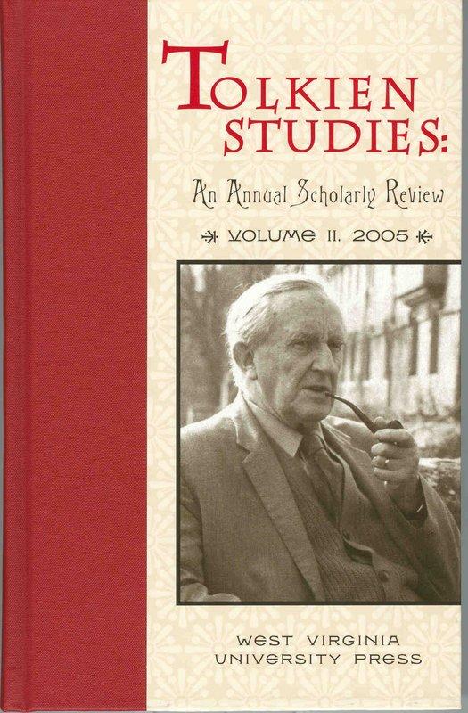 Tolkien Studies: Volume II - 525x800, 94kB