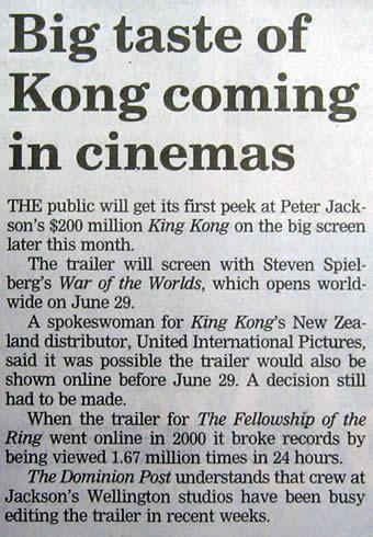 Big Taste of Kong Coming in Cinemas - 340x490, 44kB