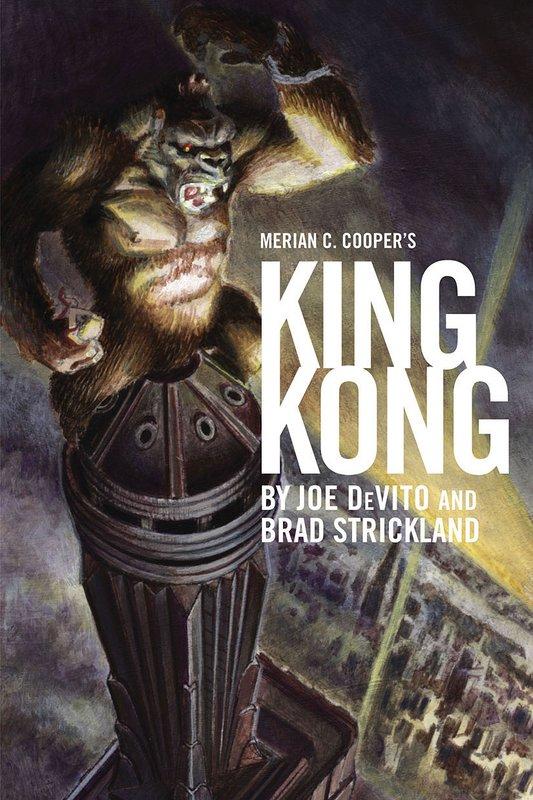Merian C. Cooper's KING KONG MOCK UP Cover - 533x800, 105kB