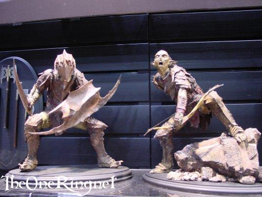 Moria Goblin Sideshow Toy Statues at Comic-Con 2001 - 533x400, 42kB