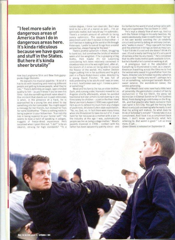 Big Issue Magazine Talks Elijah Wood - 583x800, 117kB