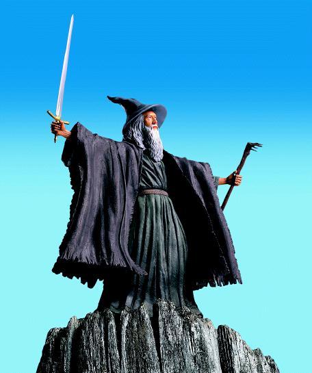 Gandalf Toy Biz Action Figures - 456x545, 38kB
